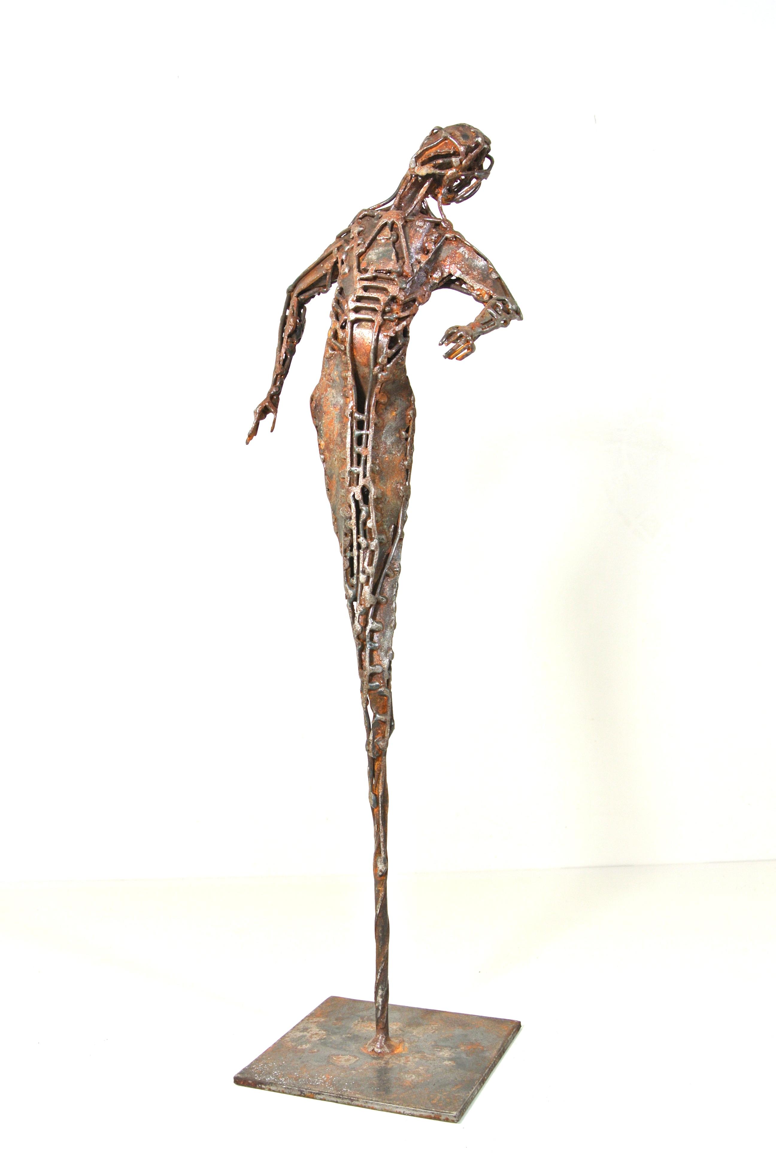 La Guetteuse - H : 35 cm