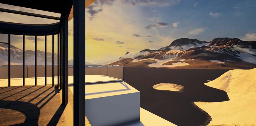 Indoor Light Design3D Video Rendering