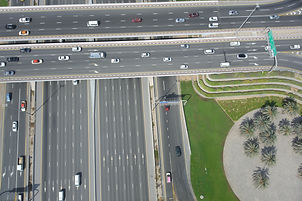 ROADS WITH DRONES