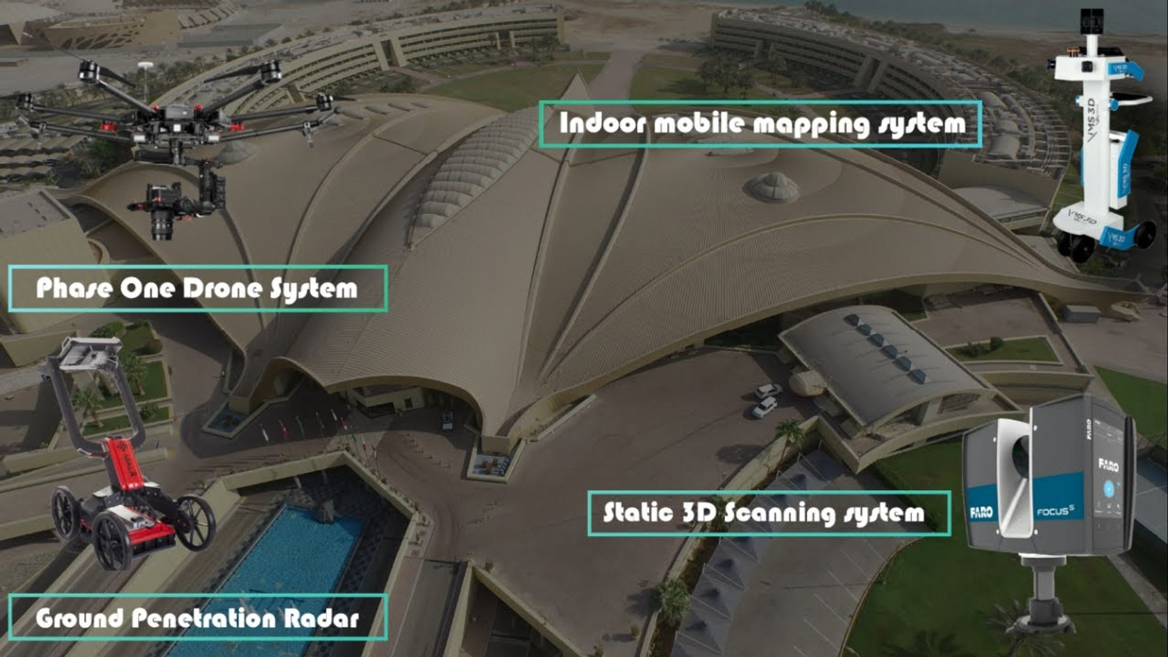 3D Scan for Luxury Club and Hotel in UAE