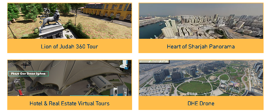 List of Virtual and Pano Tours by GEOTECH3D