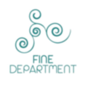 FineDepartment.com startup solutions logo teal tribal