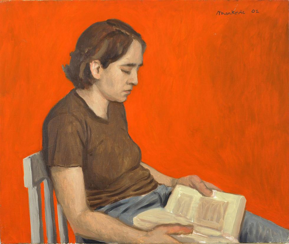 Viviane lisant