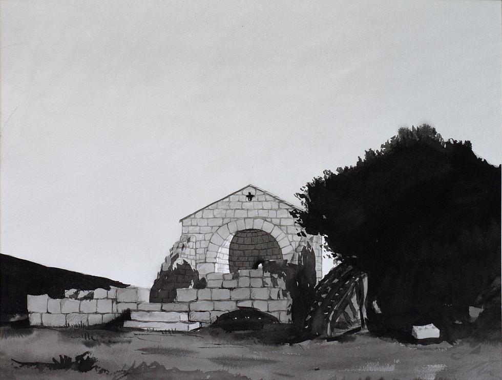 Corse ruine