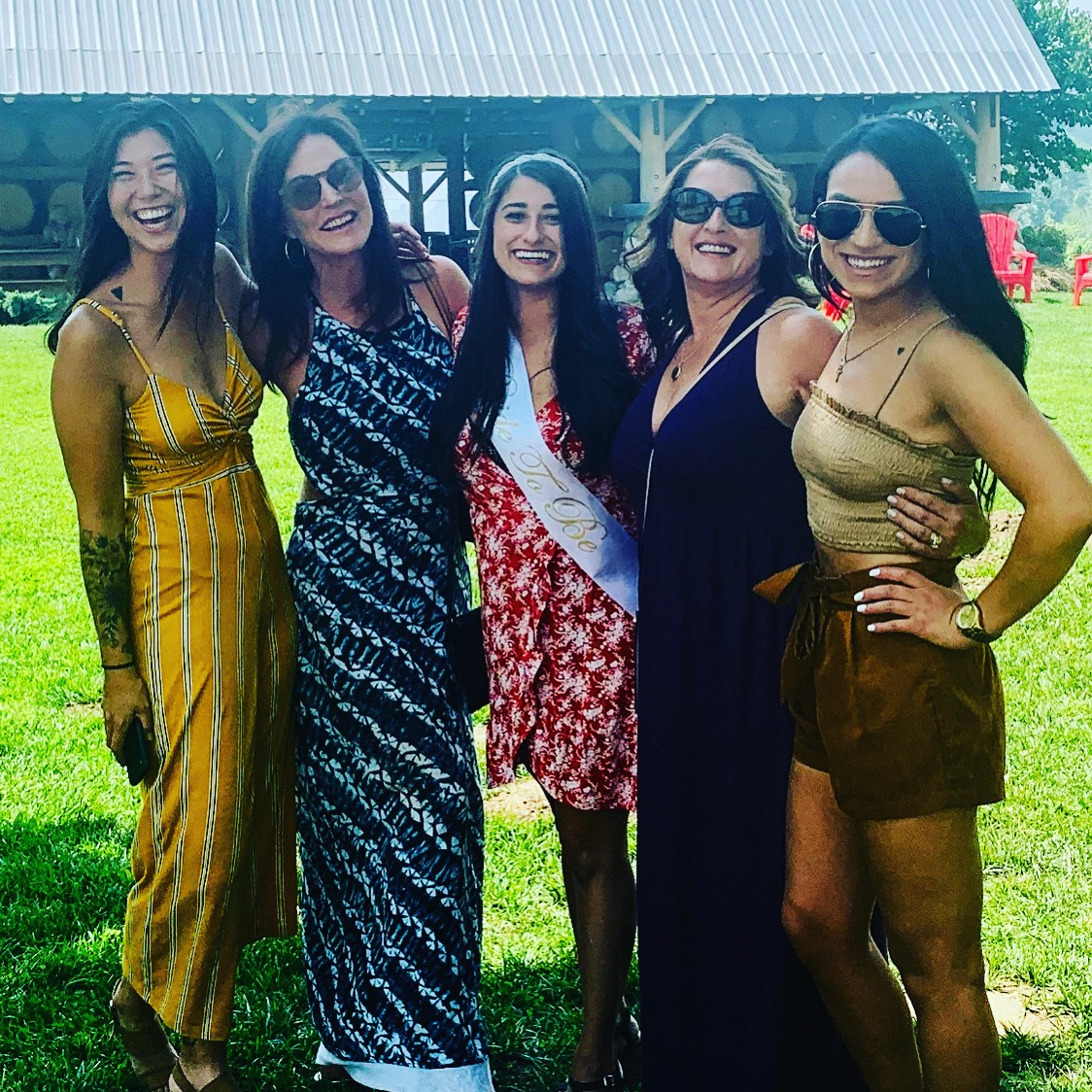 Ladies at Red Lily Vineyards