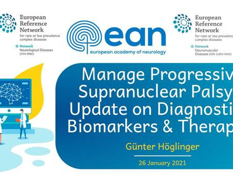 WEBIMAR: 'Progressive Supranuclear Palsy – Update on Diagnostics, Biomarkers and Therapies' by Günt