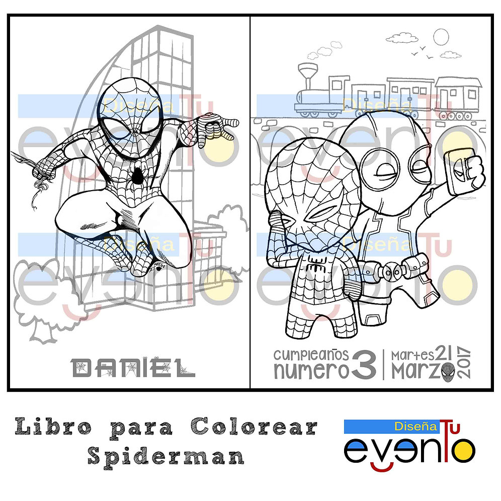 Image Of Dibujos Para Colorear Spiderman Pdf Spiderman