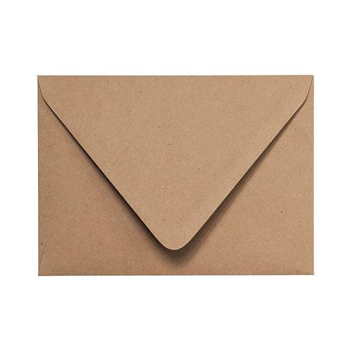 Dark Kraft Colored Envelope