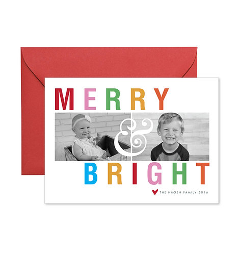 Hagen merry & bright card