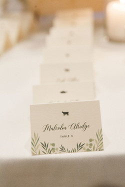 Jessica McCormick Placecards
