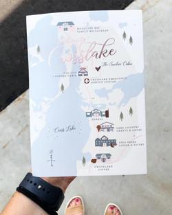 Samantha Fox Map Card