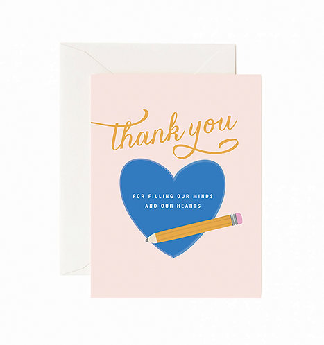 Filling Our Hearts Greeting Card