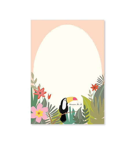 Toucan Do It Notepad