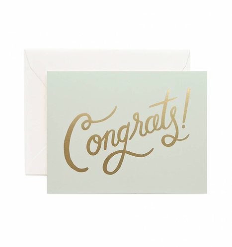 Timeless Congrats Greeting Card