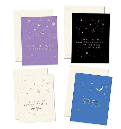 Astrology Greeting Card Set