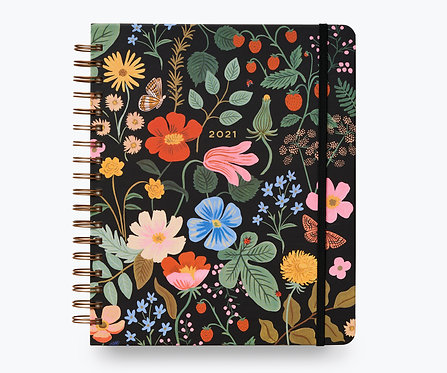 Strawberry Fields 2020-21 17 Month Large Planner