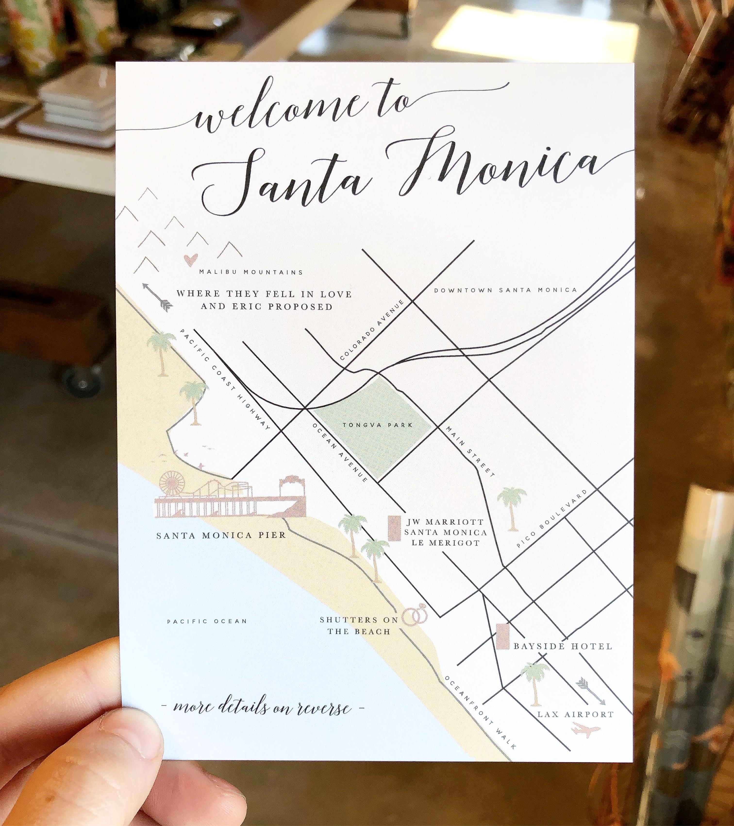 Casie Dye Map Card