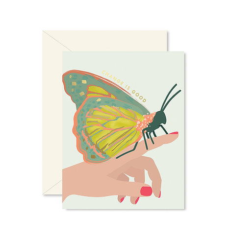 Butterfly Change Greeting Card