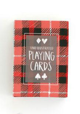 Buffalo Plaid Playing Cards