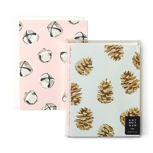 Patterned Holiday - Boxed Set of 8