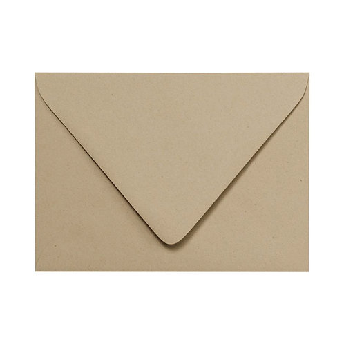 Light Kraft Colored Envelope