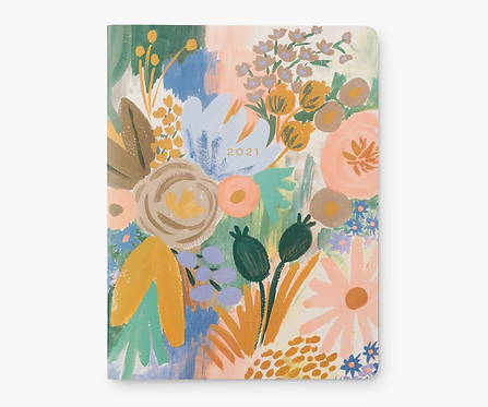 2021 Luisa 12-Month Appointment Notebook