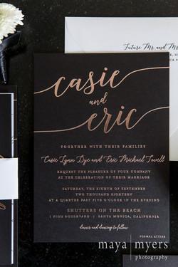 Casie Dye Invites