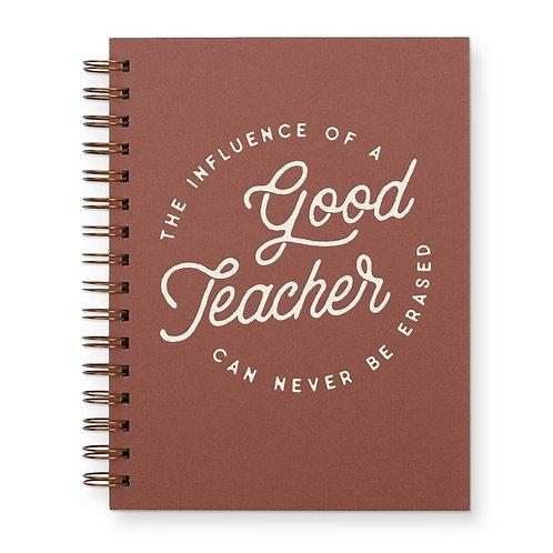 Teacher Influence Journal: Lined Notebook