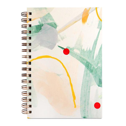 Dewdrop Painted Notebook