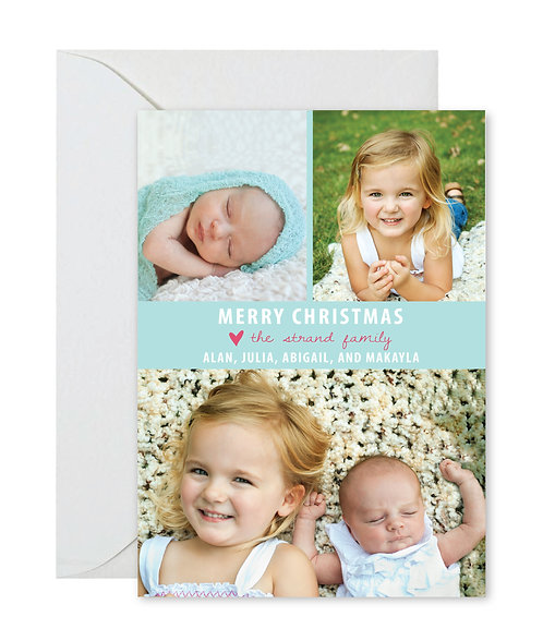 Strands peaceful Christmas card