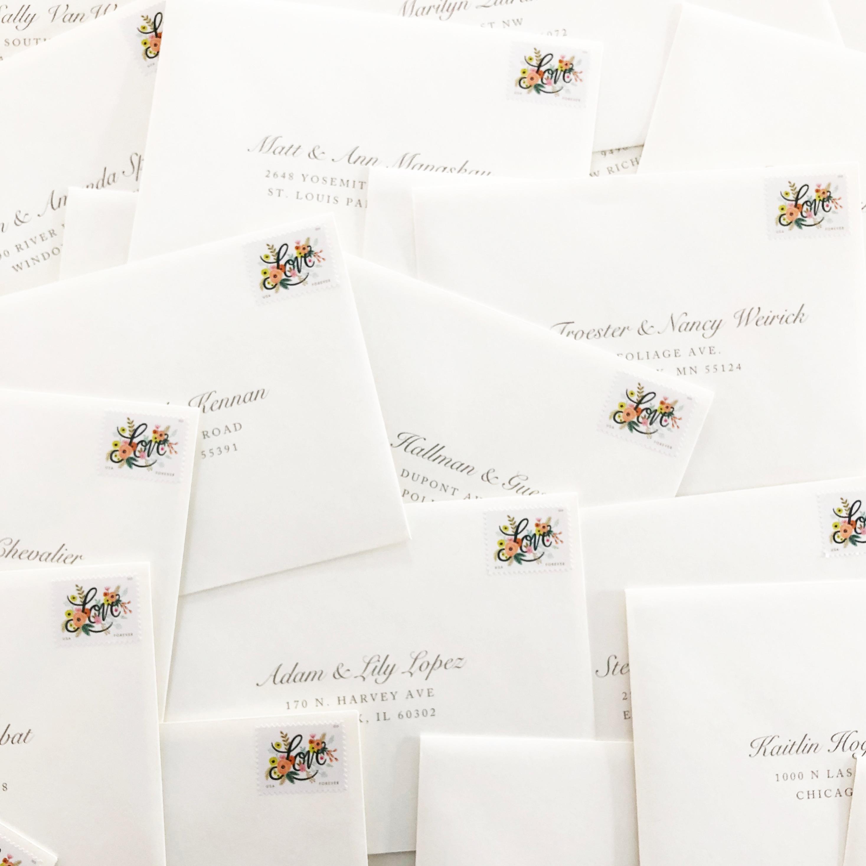 Envelope Spread