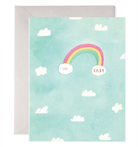 Hi Baby Greeting Card