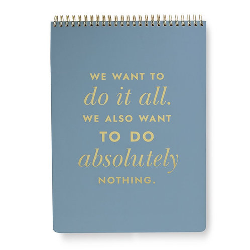 Kate Spade top spiral large notebook, do it all