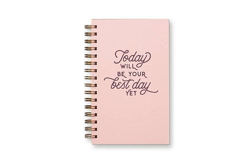 Best Day Yet Weekly Planner Notebook