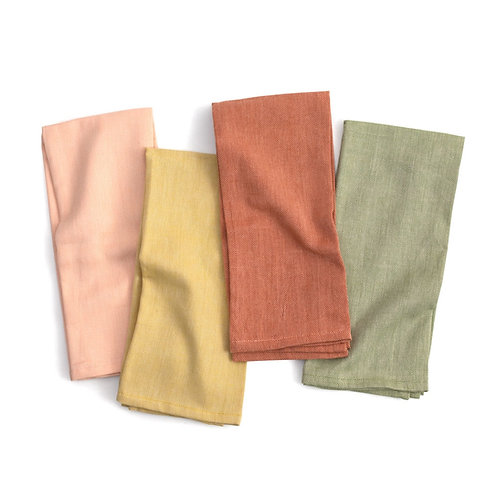 Herringbone Tea Towel Set