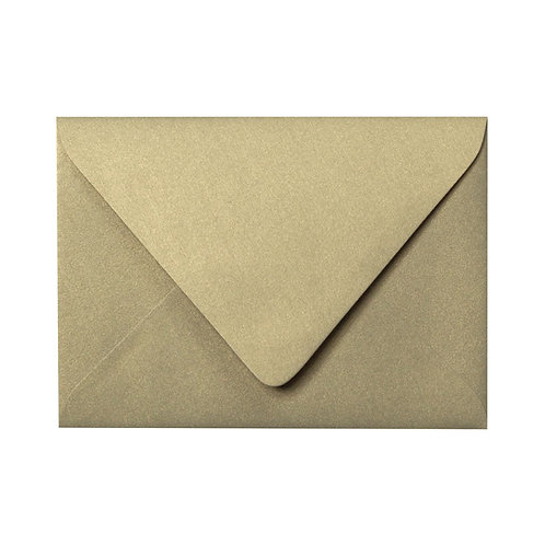 Gold Shimmer Colored Envelope