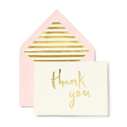 Kate Spade New York Thank You Card Set