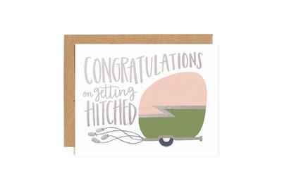 Congrats Camper Greeting Card