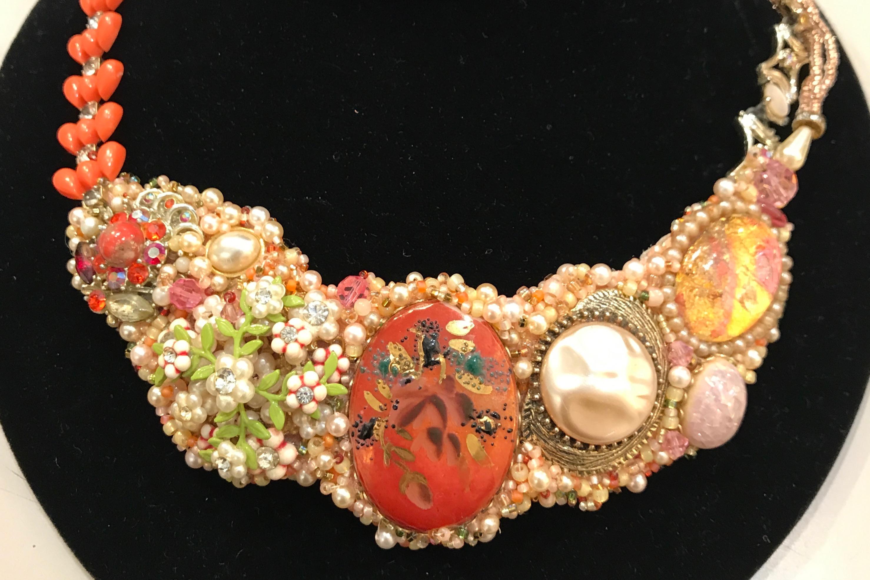 Upcycled Costume Jewelry