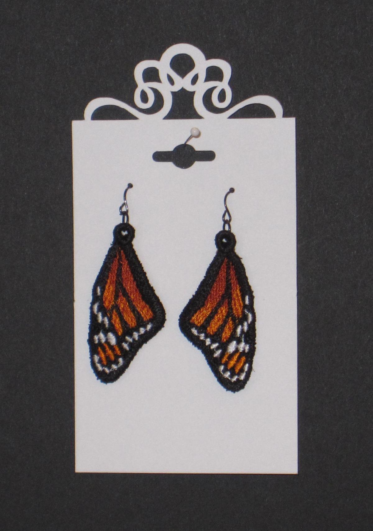Monarch Earrings D Stanley