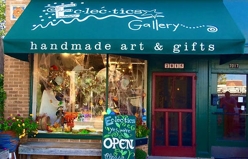 Eclectics Gallery handmade art and gifts