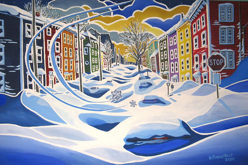 """""""The Aftermath: Snowstorm"""" Original By Reilly Fitzgerald"""