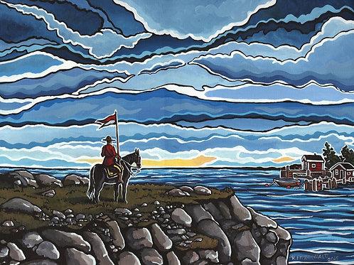 """Home and Native Land"" 11X14 Fine Art Paper Print  Reilly Fitzgerald, Artist"