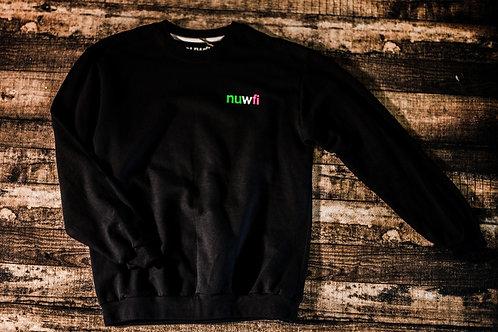 Nuwfi Lettering Sweatshirt