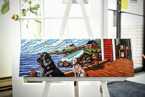 """Newfoundland & Labrador"" Canvas Print By Reilly Fitzgerald"