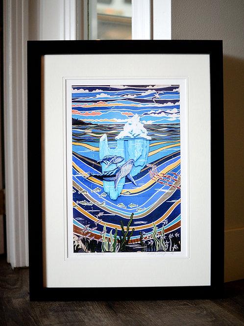 """Canadian Treasure"" Framed Print Reilly Fitzgerald Artist  18X24 Framed"