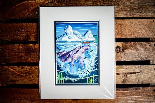 """Colossal"" 5X7 Matted Print (Reilly Fitzgerald Artist)"