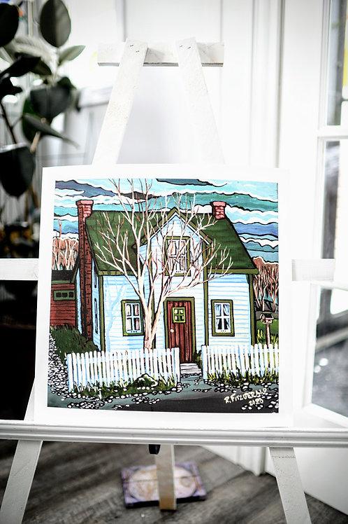 """""""Whelan House"""" 16X16 Art Print Unframed (Reilly Fitzgerald, Artist)"""