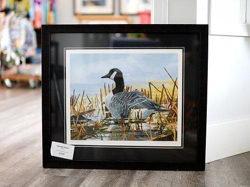 """Canada Goose"" Framed Print Reilly Fitzgerald Artist  20X24 Framed"