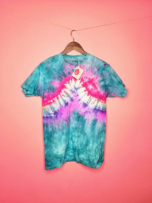 """Rainbow Road"" (Adult Unisex Medium T Shirt) @TheUProjectNL"